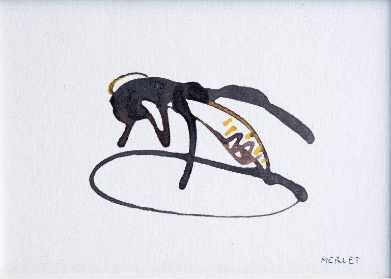 Laurent Merlet peinture encre